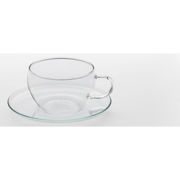 tasse transparente en verre au paradis du th. Black Bedroom Furniture Sets. Home Design Ideas