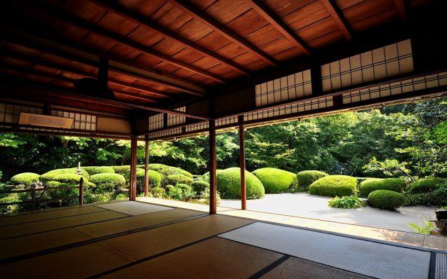 Ajoutez un peu de zen attitude votre bureau avec ces for Jardin japonais fond d ecran