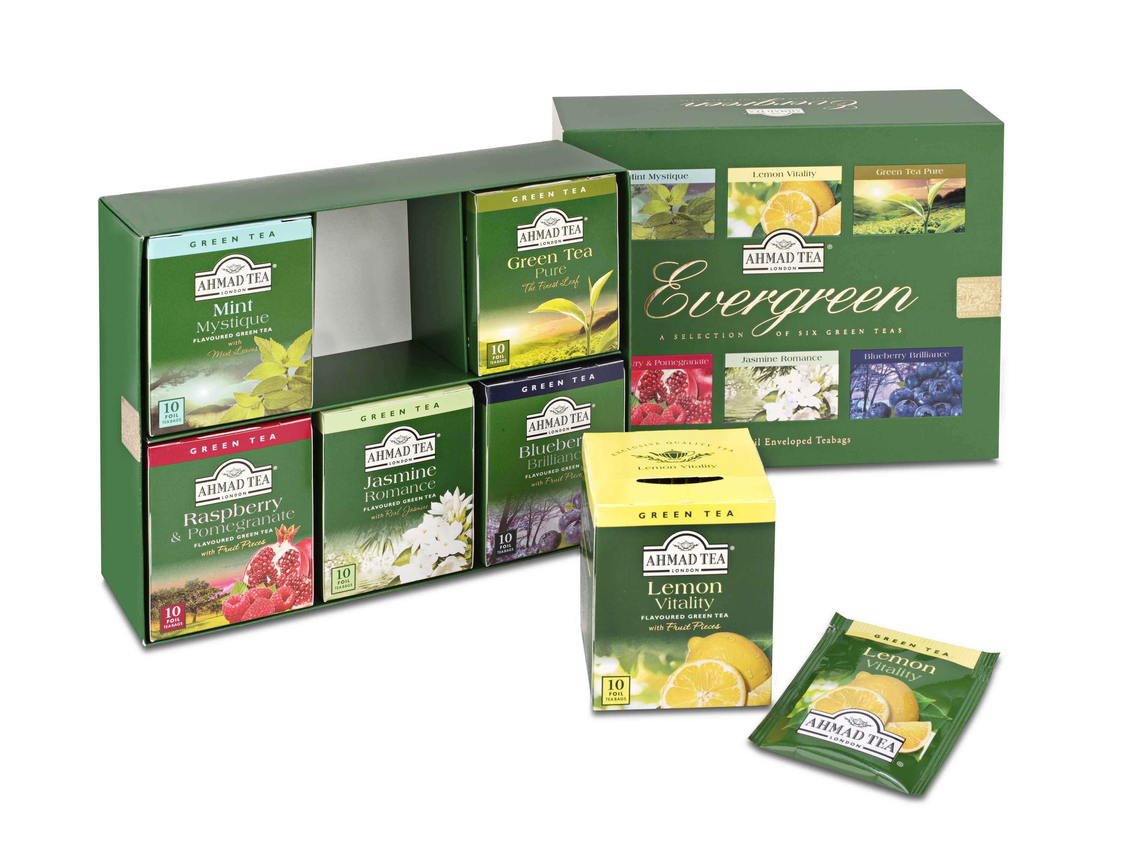 Coffret 6 thés fruités Ahmad Tea