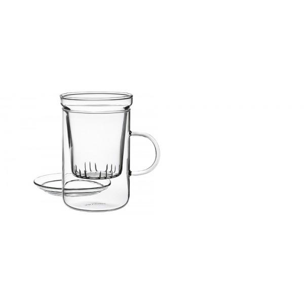 tasse th avec filtre 300 ml au paradis du th. Black Bedroom Furniture Sets. Home Design Ideas