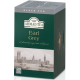 Thé noir en sachet Earl Grey - Ahmad Tea