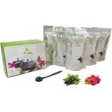 Coffret de 5 thés aux fruits rouges