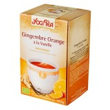 Gingembre Orange Vanille - Yogi Tea BIO