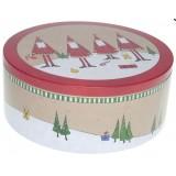 Boîte ronde Pères Noël