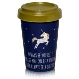 Mug Licorne bleu nuit