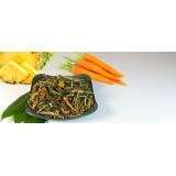 Thé vert crémeux à la carotte