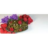 Thé vert Violettes Framboises