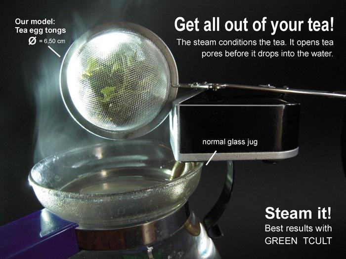 Le Green TCULT : un infuseur de thé automatique