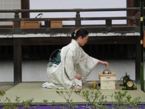 Cérémonie du thé au Japon