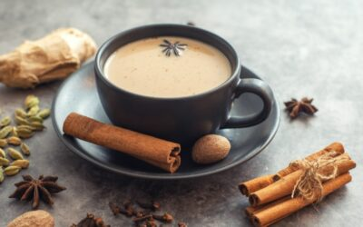 Recette gourmande de l'authentique thé Chaï Latte Masala