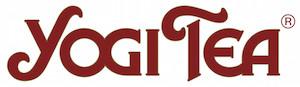 Logo Yogi Tea rouge sur fond blanc