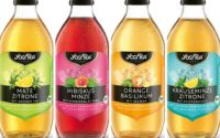 Yogi Tea lance sa gamme d'infusions prêtes-à-boire