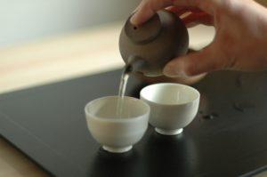 préparation du sencha