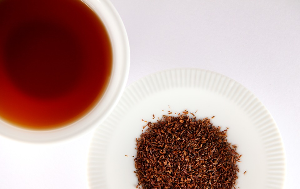 preparation du rooibos