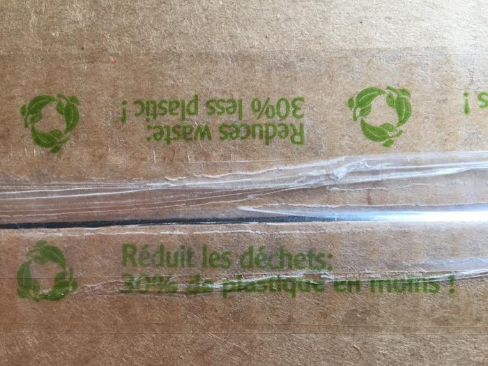 ruban adhésif moins de plastique