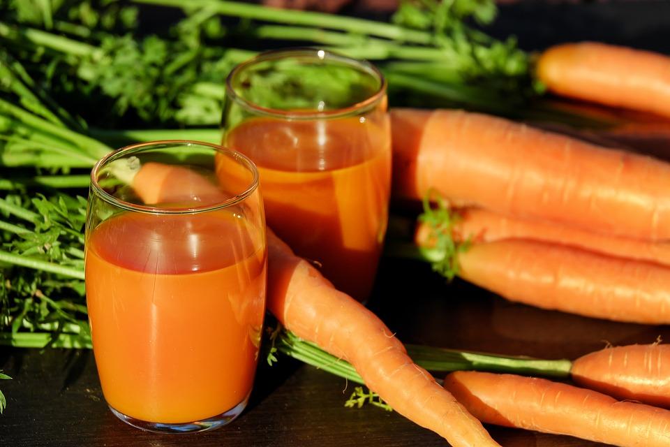 carotte en jus ou en purée