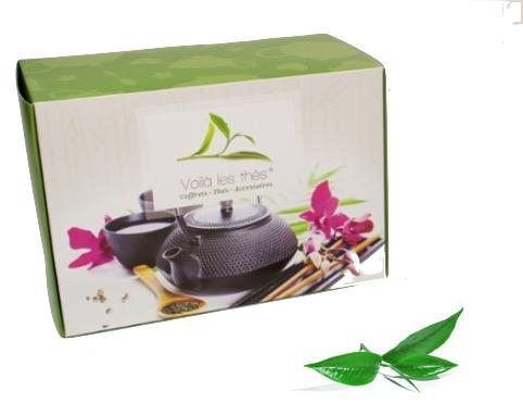 coffret découverte de thé