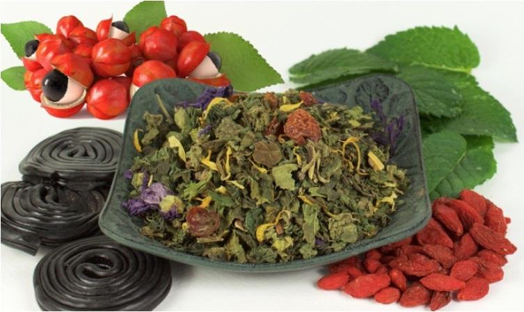 tisane orties menthe guarana
