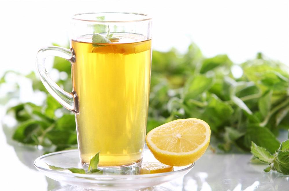 infusion de thé au citron