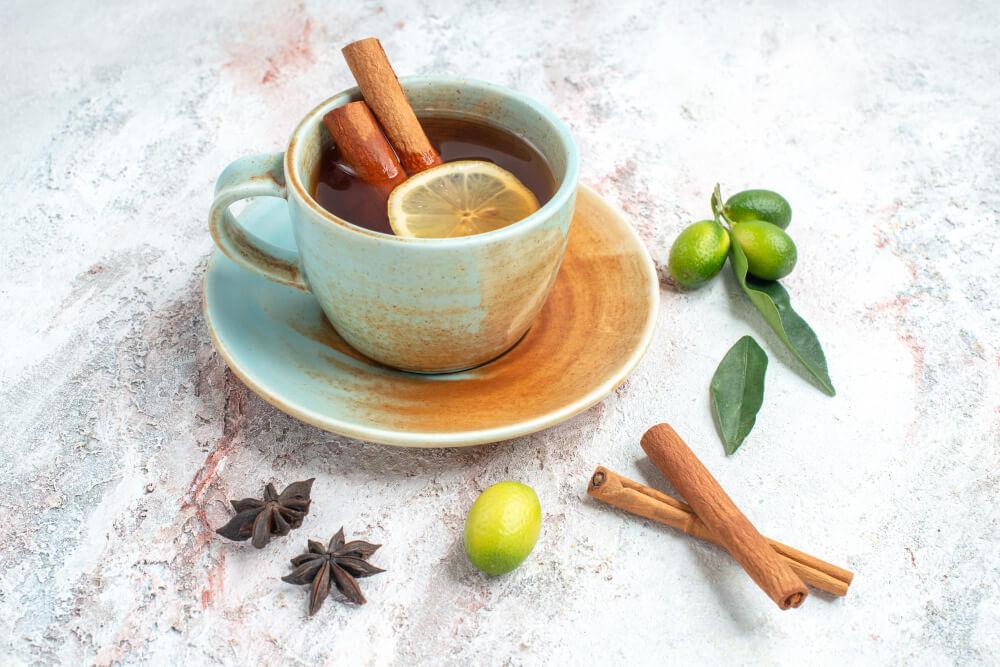 thé cannelle citron